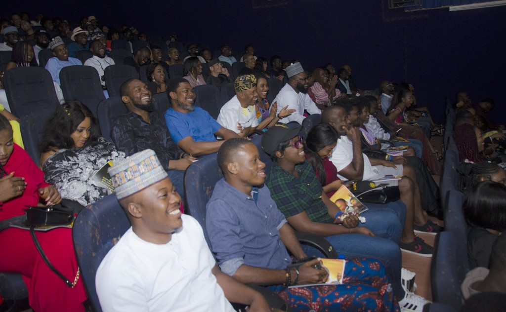 Viewers at the premiere of Hakkunde